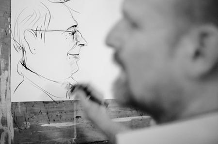 Portrait-Karikatur